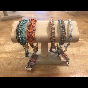 Lot of Rose Gonzales Bracelets (5)